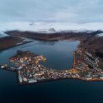 Isafjorur fiordos del oeste Islandia