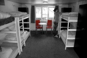 Habitación compartida albergue Islandia