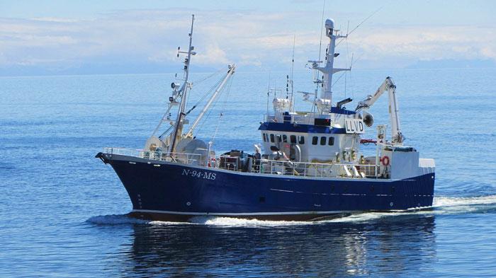 Barco pesquero Islandia