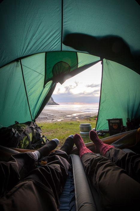 Acampada en Camping Islandia