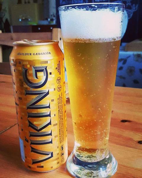 Cerveza Viking Islandia
