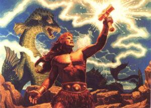 Thor dioses nórdicos cultura Islandia