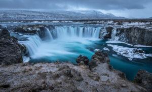 Cascada Godafoss norte Islandia