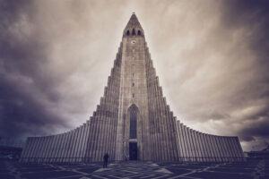 Iglesia Hallgrimskirkja en Reikiavik