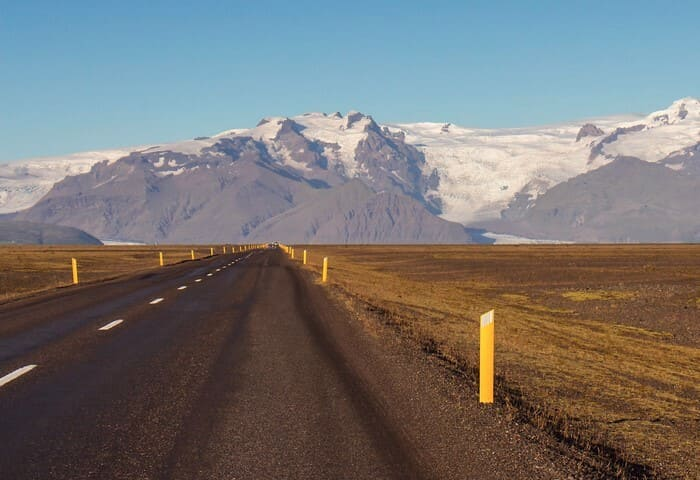 Carretera Ring Road en Islandia