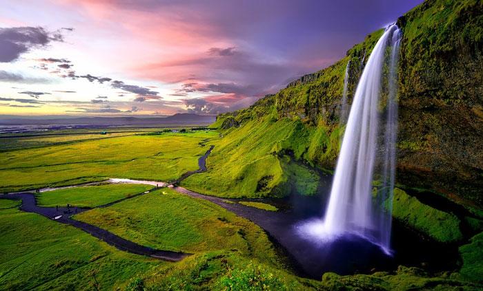 Cascada seljalandsfoss islandia