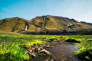 Tierras altas Islandia