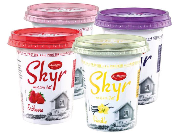 Yogur Skyr Islandia